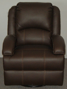 Thomas Payne Swivel Rocker Recliner - Brookwood Chestnut