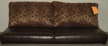 J100-64 Jacknife Sofa - Zoom Mocha / Cartman Licorice
