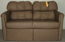 J810-56 Jackknife Storage Sofa - Malbec Pebble