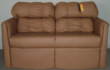 J810-56 Jackknife Storage Sofa - Malbec Clay