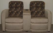 2675 Dual Reclining Console Sofa - Hellstone Social