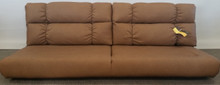 J807-72 Jackknife Sofa - Malbec Clay
