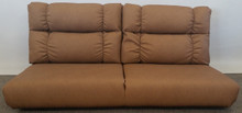 J807-55 Jackknife Sofa - Malbec Clay