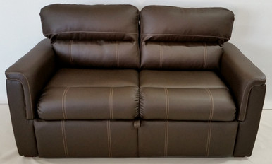 145 68 TriFold Sofa Sleeper Brookwood Chestnut RV Furniture Center