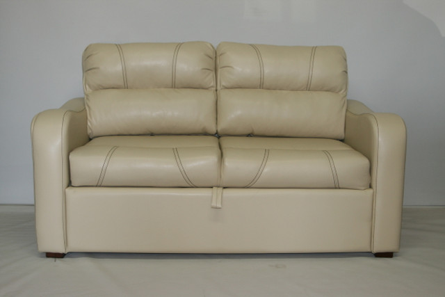 8120 65 Trifold Sofa Sleeper Knaus Cream Rv Furniture