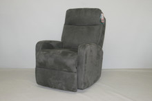 4420-02 Duke Wall Proximity Recliner - Raisin