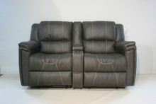 886 Reclining Love Seat Sofa - Danmaer Chestnut