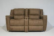 886 Reclining Love Seat Sofa - Canoga Havana