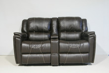 886 Reclining Love Seat Sofa - Clarkson Chocolate