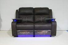 2688 Thomas Payne Wallhugger Reclining Love Seat Sofa - Carver Chocolate