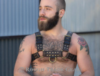 Bulldog Deluxe - Leather Harness