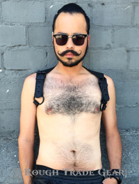 Endurance Raw Leather Harness - Rough Trade Gear