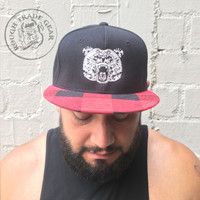 SugarBear Plaid Snapback - Chubby Cub Designs