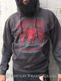 RTG Bulldog Smoke Hoodie - Rough Trade Gear