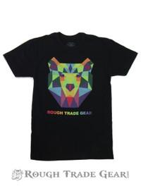 Kaleidoscope Bear T-shirt - Rough Trade Gear