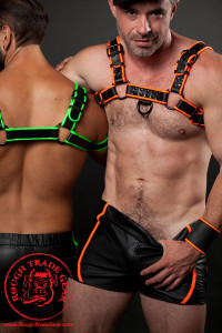Track NEON Leather Shorts - Rough Trade Gear