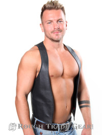 Euro Leather Vest - Rough Trade Gear
