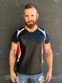 Athletic Leather Tee - Rough Trade Gear