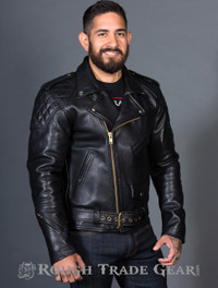 RTG Leather Motorcycle Jacket