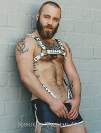 Bulldog Skinny Extreme Leather Harness - Rough Trade Gear
