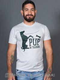 Pup in Training T-shirt - BurlyShirts