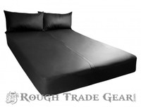 Exxxtreme Rubber Fitted Play Sheet QUEEN - Si Novelties