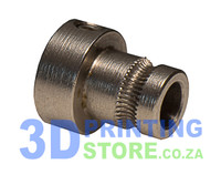 Extruder Gear for direct drive extruder, Stainless steel