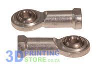 Rod End, Steel, 4mm bore, M4 Female, 1 pair