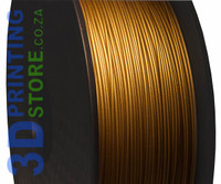 Metal Fill Filament, 1kg, 1.75mm, Frosted Bronze