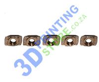20 Series Turn T-Nut, M4, Pack of 5