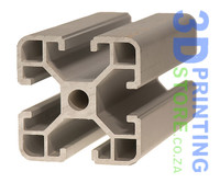 40 x 40mm Aluminium T-Slot Profile, Light