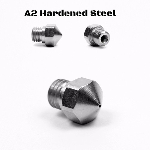 Micro Swiss, Hardened MK10 Nozzle for All Metal Hot End Only, 0.5mm