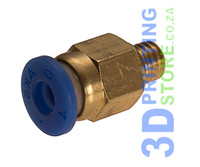 Tube fitting for 4mm tube, M6 thread