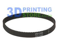 Closed Loop Timing Belt, GT2, 6mm wide, 200mm long