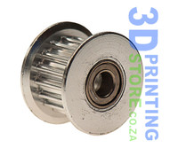 Idler Pulley with teeth for 6mm Belt, 16 teeth