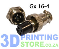 GX16 Connector, 4 Pin, Female