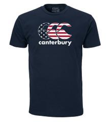 Canterbury USA Logo Tee - Navy