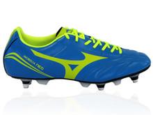 Mizuno Morelia Neo Classic Rugby Boot SG - Blue/Yellow