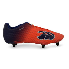 Canterbury Speed Elite 6 Stud Rugby Boot - Firecracker Red