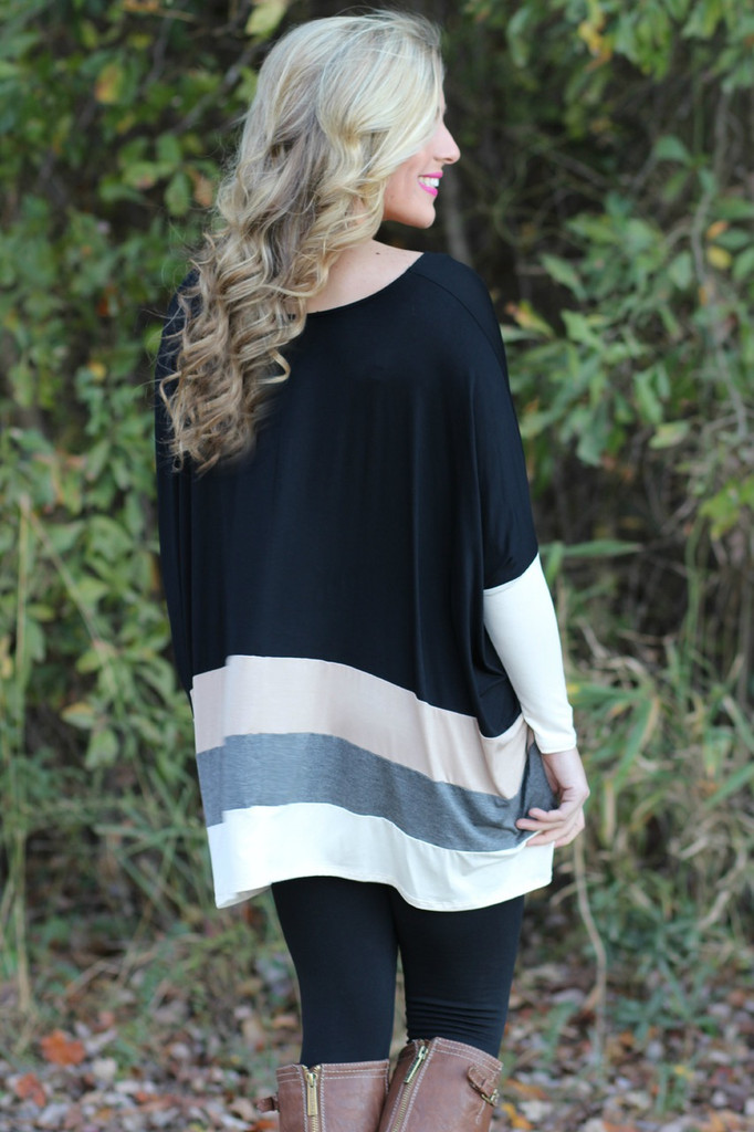 Something About You Top: Black