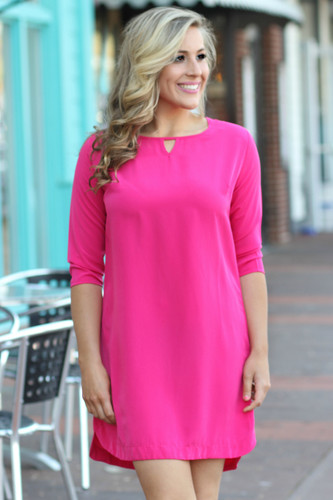 The Blake Dress: Pink
