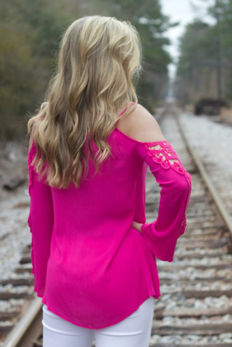 All I Want Top: Hot Pink
