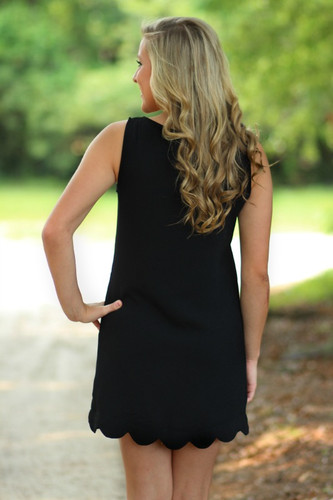 Finders Keepers Dress: Black