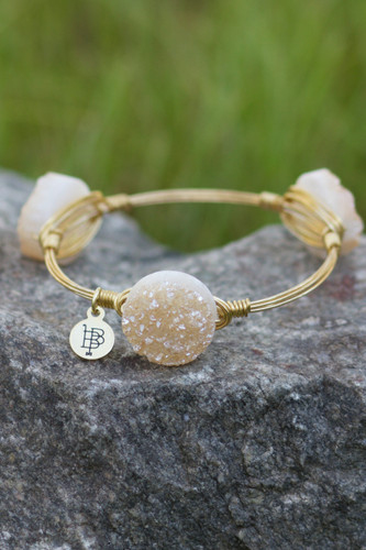 Bourbon And Boweties: Medium Druzy Bangle