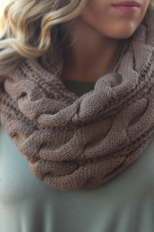 Snowed In Scarf: Mocha