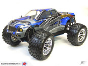 HSP 1/10 Nitro Monster Truck-Pivot Ball Suspension, 2.4G radio