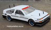 HSP Racing 1:10 Scale Electric Powered On-Road Racing Car AE86