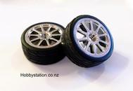 HSP drift wheel (pair)  20305   for !:10 on road car