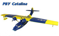 Dynam Large PBY Catalina seaplane RTF version BLUE