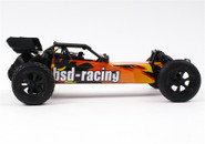 RED CAT /BSD BS709R 1:10 Brushless remote control Baja